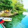 格安レンタルボートで釣りや水遊びに最適!青木湖キャンプ場【長野県】