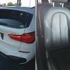 BMWのX1の本革シートのパイプライン擦れ補修