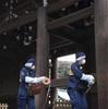 明治神宮に液体、女2人に逮捕状…中国に帰国か