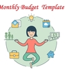 Monthly Budget Template : Track Your Spending By Month
