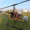 一人乗り用ヘリコプター