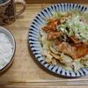 「豚ロースと野菜の簡単のっけ。お題「昨日食べたもの」「簡単レシピ」」