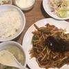 細切り豚肉の甘辛炒め定食(中華ダイニング 馨/渋谷)