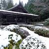 京都・大原 - 来迎院の冬景色