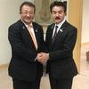 外務副大臣で参議院議員の佐藤 まさひさ先生をスペシャルゲストにお招きして、私の市政報告会を開催いたしました