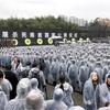 南京事件から79年 追悼式典に1万人参列 中国