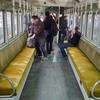 レトロ電車の車内見学は終点の琴平で(岡山&高松旅行⑤)