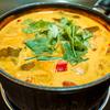 初めてのトムヤムスープは辛かった。
