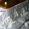 冬支度 シロクマ柄の コタツ布団