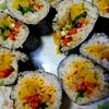 韓国風手巻き寿司、キンパを作ろう レシピ付き
