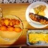 唐揚げ棒、天ぷら、玉子焼き