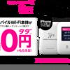 【一括1円+5000ポイント】モバイルWi-Fiも自宅の光回線も1年間全部タダで楽天モバイル×楽天ひかりが最強すぎる件