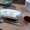 朝食に湯豆腐は最高。
