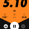 2018/02/06のトレーニング(ラン5.1km&自重)