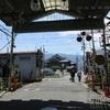 奈良・御所市商店街の古い街並み
