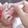 離乳食10日目☆娘にとってはスプーンもおもちゃなのか?