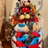 【ベビーグッズ】出産祝いのおむつケーキ『ミッキーマウス』
