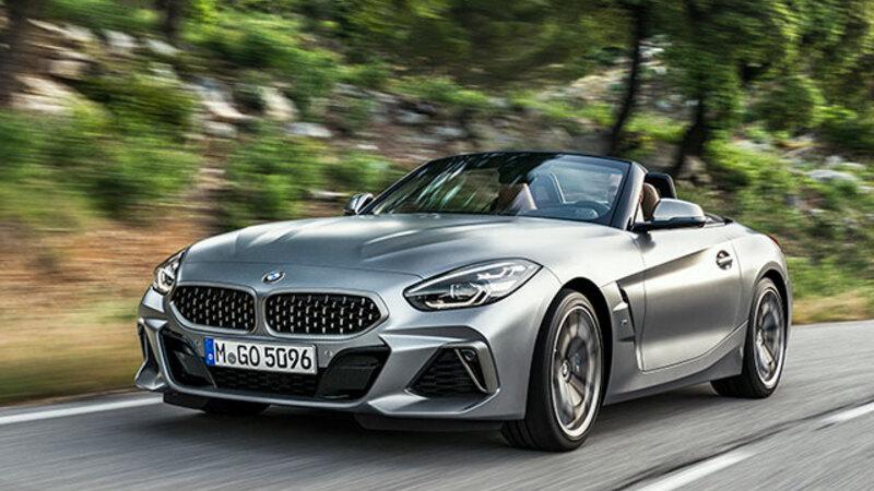 BMW Z4、2年ぶりに復活。直4と直6、2種類のエンジンをラインナップ