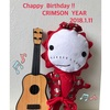 Chappy Birthday ‼️〜CRIMSON  YEAR 1月〜