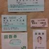 No.102 相模鉄道・JR東日本 普通回数券(海老名~相模大塚・門沢橋)