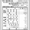 株式会社東京サマーランド 第51期決算公告
