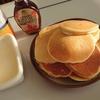入試休みでのんびり朝ごはん HM未使用ふわふわパンケーキ