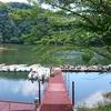 亀山ダムは暑い