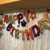 【私の誕生日】ヨメがド派手なバルーンを調達してきました!(+娘のお手製プレゼントは...)