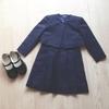 卒園式・謝恩会のコーデ、娘と私。私は、いつもの通勤用ジャケットを利用します