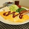 チーズ入りオムレツ、きんぴら、赤出汁の豚汁で和朝食 @家ごはん