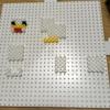 パーラービーズでマインクラフトの鳥を作る