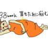 妊娠38週(妊娠後期) 胃もたれの悪化への対応