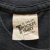 626 第3弾 ビンテージ 黒ボディ 無地ポケットTシャツ 70's80's