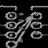 2層ニューラルネットワークに対する誤差 逆伝播法 - python
