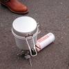 【アウトドア風】イワタニ ジュニアコンパクトバーナー&スノーピーク アルミトレック900を使ってみた