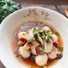 さつまいもと鶏団子のスープ【#さつまいも  #鶏肉 #しめじ #レシピ #簡単】