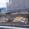 トヨタホームこころ展示場18期ができるまでNO4 ついに始まりました!基礎工事!!  2月には据付なのに・・・やっと始まった~!