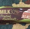 レオニダス 30%ミルク プラリネヘーゼル!ヘーゼルナッツ味のお菓子は結構好き!
