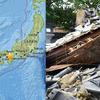大阪での地震