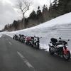4/12 【WRC】4月定例ツーリング 磐梯吾妻スカイラインで雪の回廊を見よう