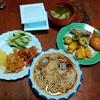 幸運な病のレシピ( 2302 )朝 :天ぷら、鮭、素麺