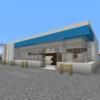 【Minecraft】ロ〇ソン風コンビニを建てる