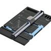 あると便利な文房具! 簡単で安全に紙を半分に切るスライドカッター『ハンブンコ』です