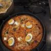 幸運な病のレシピ( 1946 )夜:鶏肉のトマト煮チーズ(モッツァレッラ)焼き、鰹たたき、汁