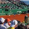 毎年モナコで開催されるテニスの大会、モンテカルロ・マスターズを見てきた