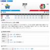 2019-07-15 カープ第85戦(横浜スタジアム)◯8対5 DeNA(39勝43敗3分)12連敗阻止。素直には喜べないけど、まぁ、良かった。