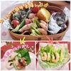 簡単おいしい薬膳弁当レシピ2品♪えび&アスパラサラダ☆とり肉の梅肉和え