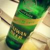 台湾料理の老舗・欣葉で賞味期限18日のビールを飲む!