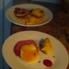 Half-eaten plates