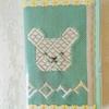 東京で、こぎん刺しの青森県民手帳が買える催し。